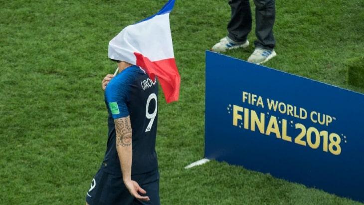 Фрагмент финала Чемпионата мира 2018