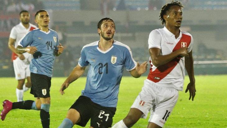 Счет игры футбола англии и уругвая
