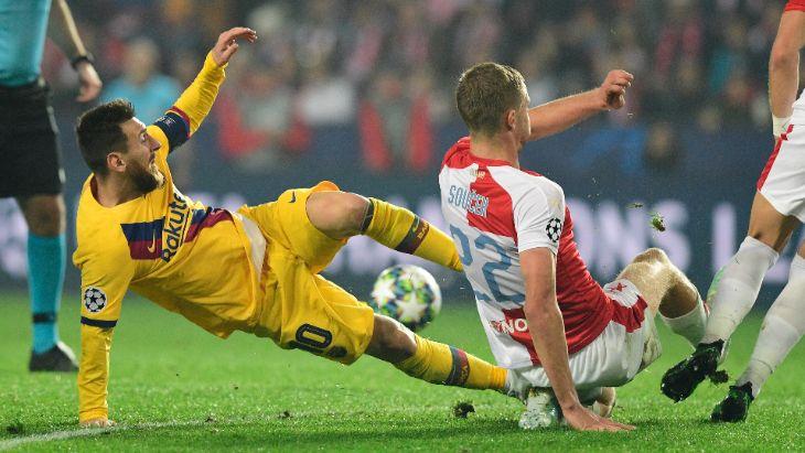 «Барселона» дважды вела в счете