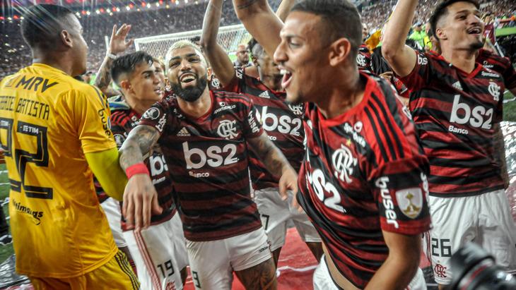 Футболисты «Фламенго»