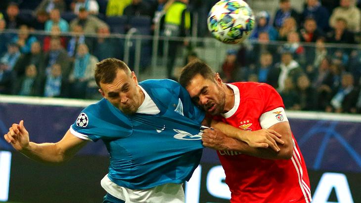 «Зенит» обыграл «Бенфику», но Россия отстала от Португалии