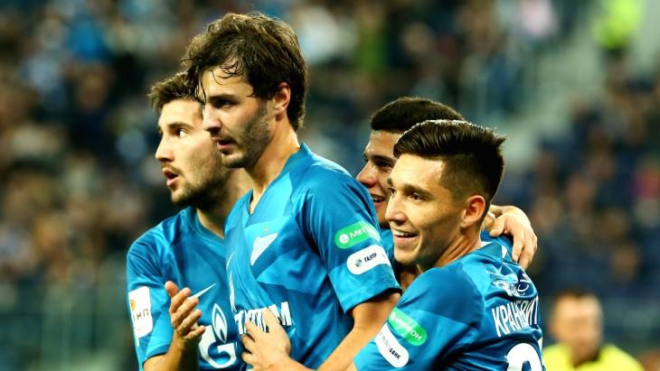 Футболисты «Зенита»