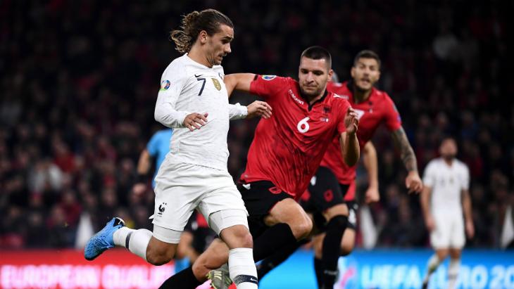 Албания — Франция