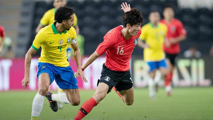 Бразилия — Южная Корея