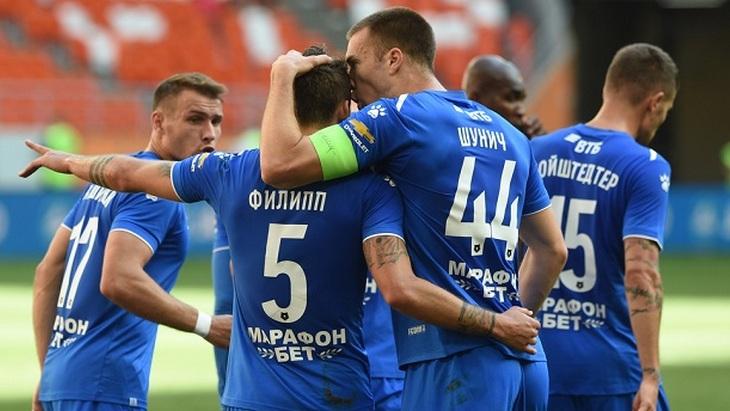 Футболисты «Динамо»