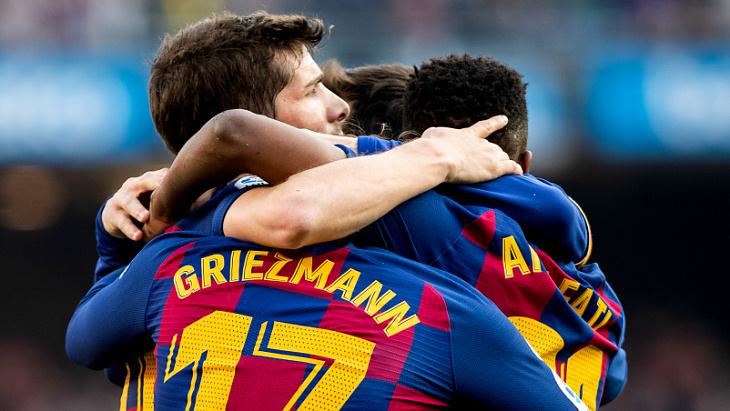 «Барселона» с трудом победила «Хетафе»