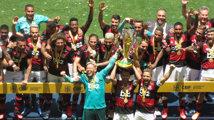 «Фламенго» выиграл Суперкубок Бразилии
