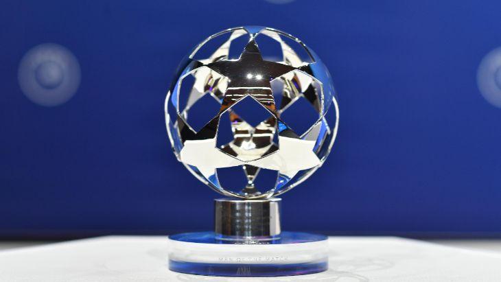 Награда сделана в форме мяча