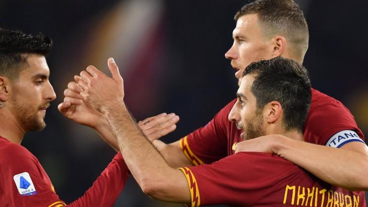 Футболисты «Ромы»