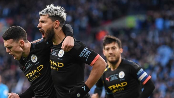 «Сити» празднует первый гол