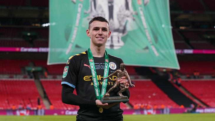 Фоден стал лучшим игроком финала Кубка Лиги