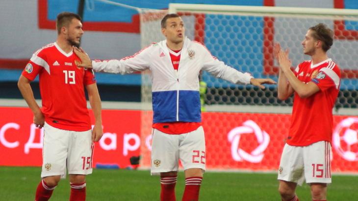 Игроки сборной России