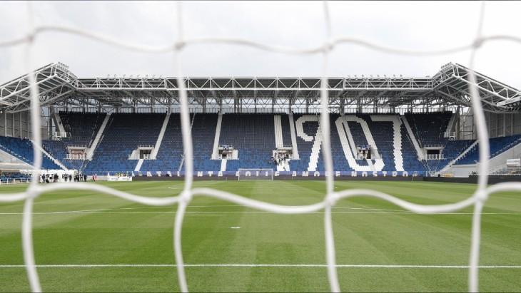 Пустой стадион «Аталанты»