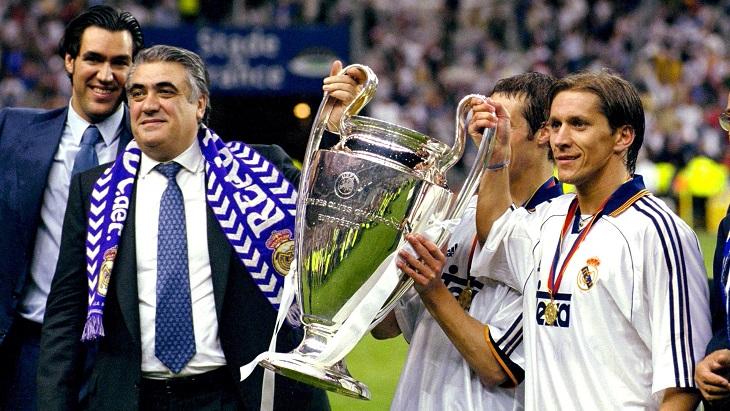 При Сансе «Реал» выиграл первый Кубок чемпионов за 32 года
