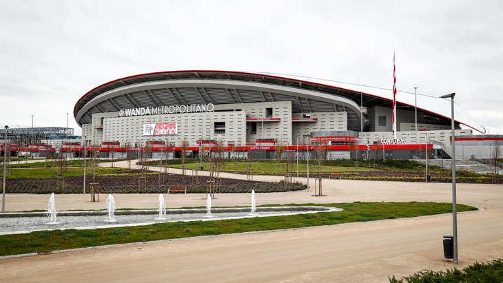 Стадион мадридского «Атлетико»