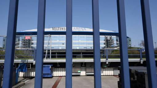 Стадион «Шальке» за решеткой