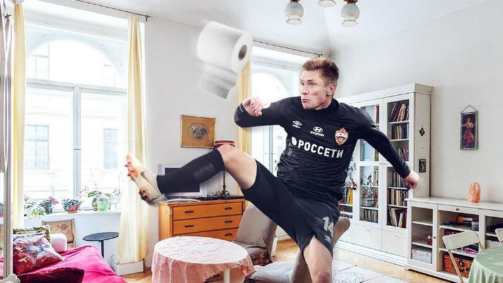 ЦСКА на карантине