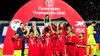 «Истиклол» празднует победу в Суперкубке
