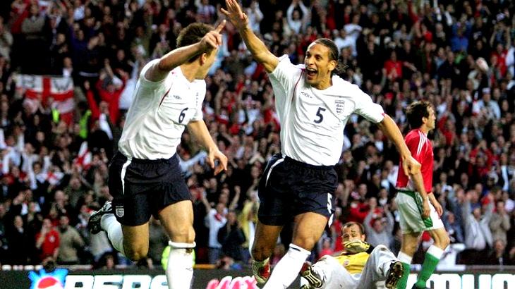 Англия могла бы преуспеть на Евро-2005