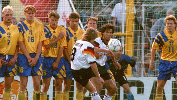 Швеция — Германия. Евро-1992