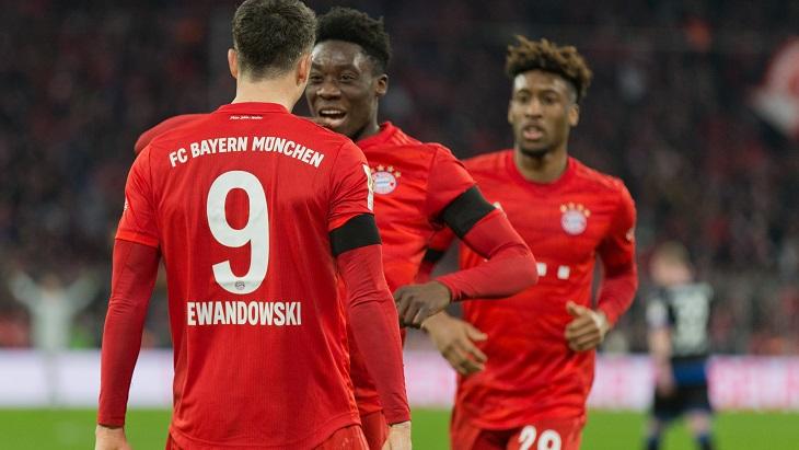 «Бавария» громила соперников и была разгромлена сама