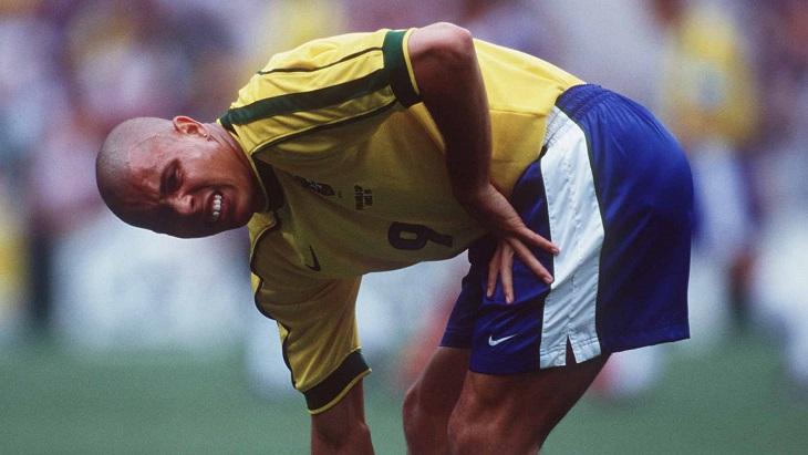 Роналдо на чемпионате мира 1998