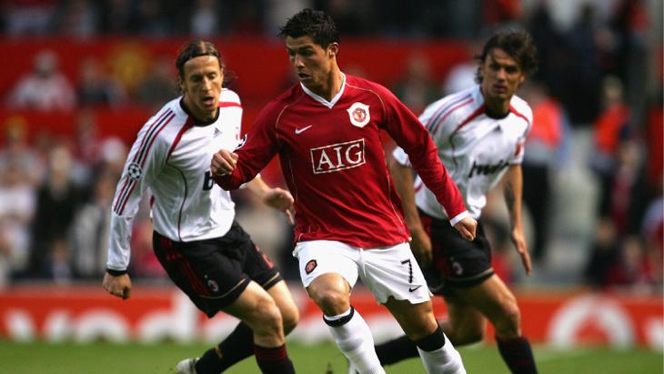 «Манчестер Юнайтед» — «Милан». Лига чемпионов 2006/2007