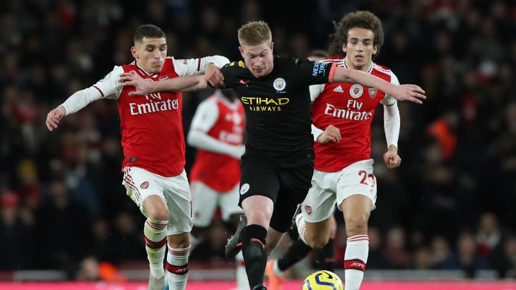 АПЛ вернется матчем «Ман Сити» — «Арсенал»
