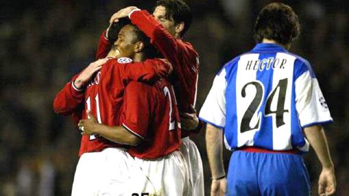 «МЮ» — «Депортиво». Лига чемпионов 2001/2002