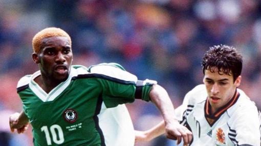 Испания — Нигерия. Чемпионат мира 1998