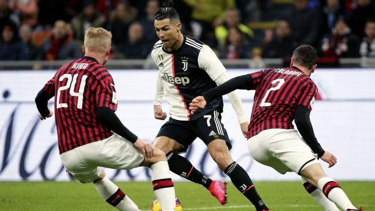 Матч «Милан» — «Ювентус»
