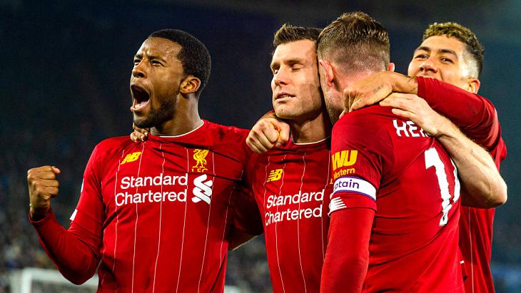 «Ливерпуль» забил сопернику шесть голов