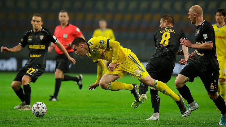 БАТЭ — «Шахтер»: счет матча 2:2, обзор голов — Футбол — LiveSport.Ru