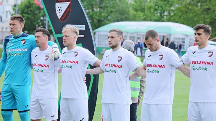 Футболисты «Белшины»