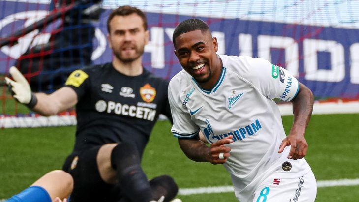 Малком оформил дубль в матче с ЦСКА