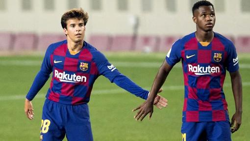Пуч и Фати готовы вести «Барселону» за собой