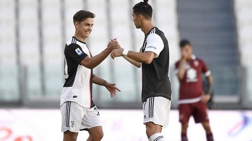 Роналду и Дибала снова принесли победу «Юве»