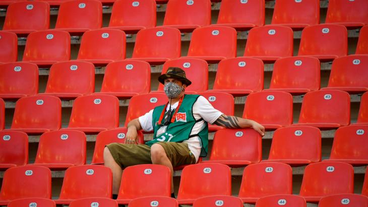 Матчи еврокубков пройдут без зрителей