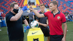 Леонид Слуцкий и Федор Чалов