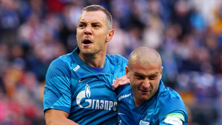 Артем Дзюба и Ярослав Ракицкий