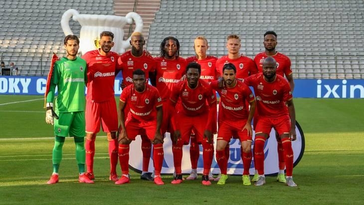 Футболисты «Антверпена»