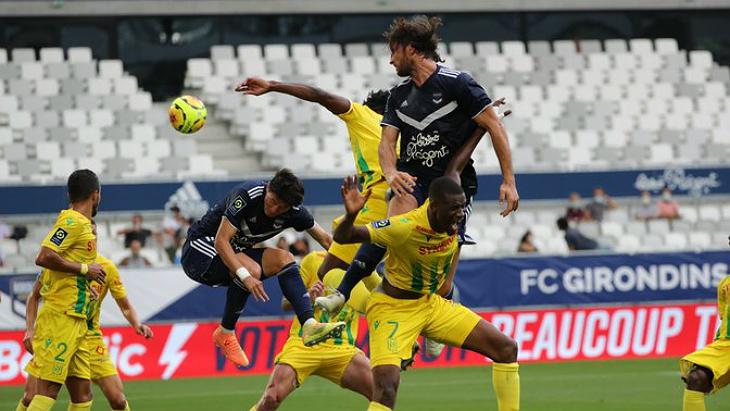 «Бордо» и «Нант» разошлись миром в стартовом матче Лиги 1