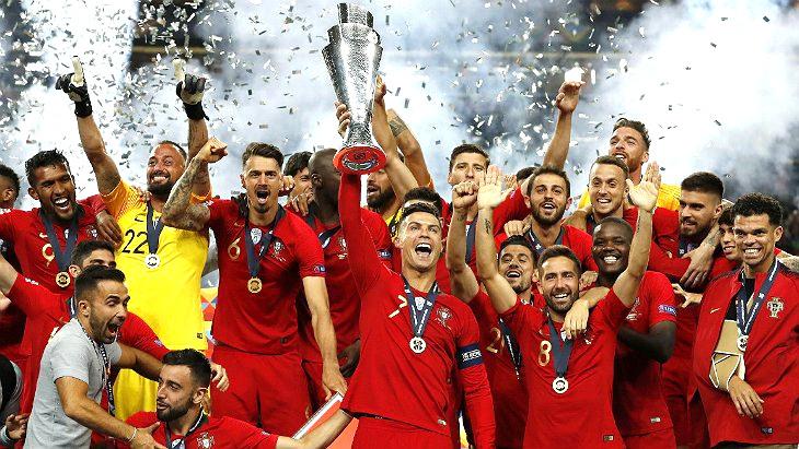 Сборная Португалии — первый победитель Лиги Наций