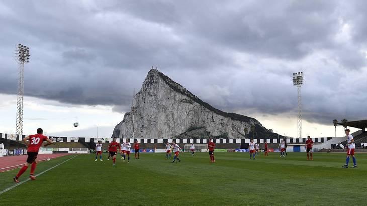 Стадион в Гибралтаре
