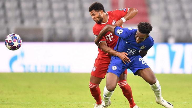 Каллум Хадсон-Одои играл против «Баварии» в Лиге чемпионов