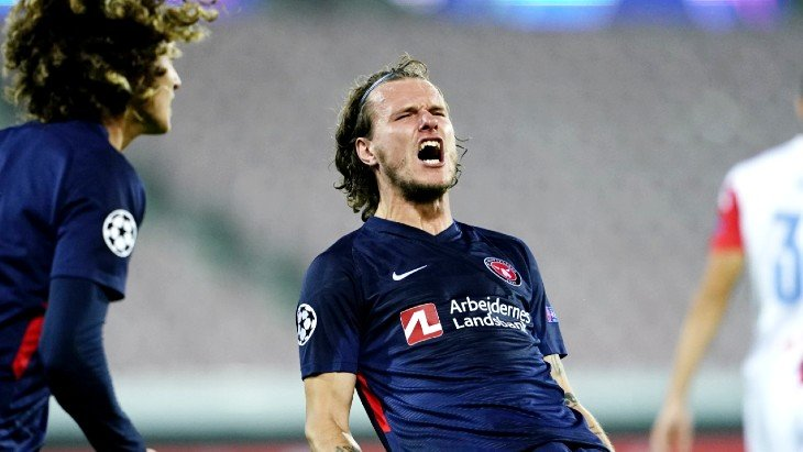 «Мидтъюлланн» впервые пробился в групповой этап Лиги чемпионов