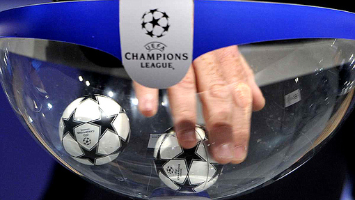 Жеребьевка Лиги чемпионов