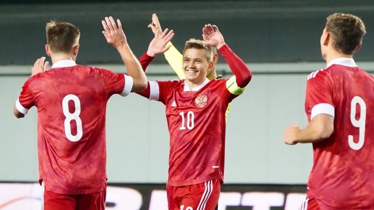 Игроки сборной России U21