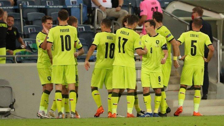 Футболисты сборной Чехии