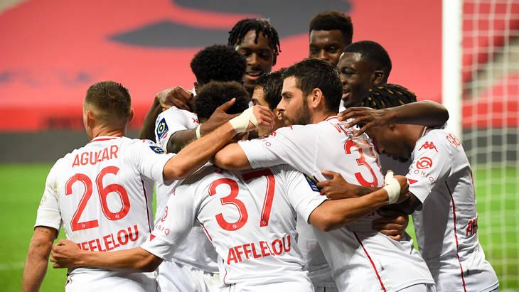 Футболисты «Монако»